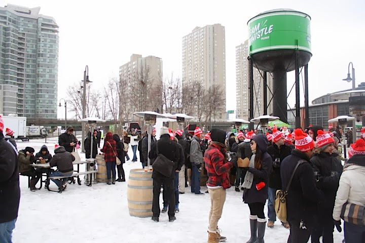 Steam whistle roundhouse winter craft beer festival for Michigan craft beer festival