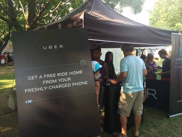 Uber graciously offering free rides